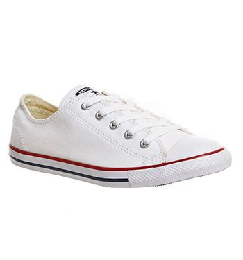 Converse All Star Dainty Optical White Hers Trainers