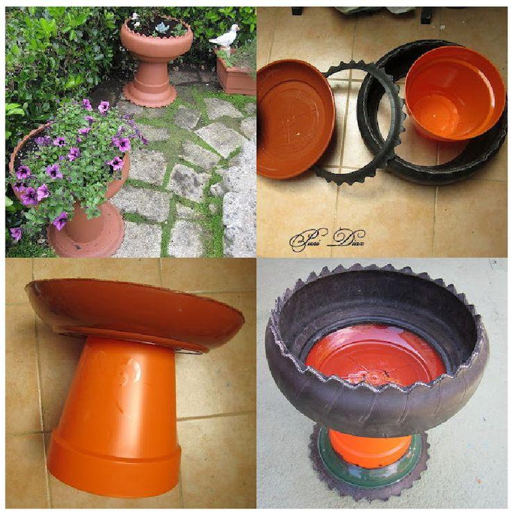 EL MUNDO DEL RECICLAJE: Recicla un neumático