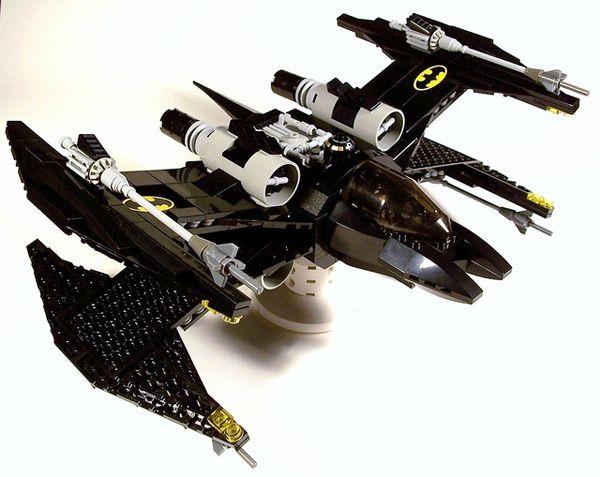 CUSTOM LEGO BATJET X-WINGFIGHTERX Wings Fighter, Bats W Fighter, Batman Lego, Lego Batman, Batman X Wings, Star Wars, Bat Wings, Stars Wars, Starwars