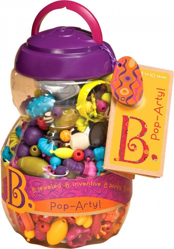 B.toys   Navlékací korále a tvary Pop Arty  | MALL.CZ