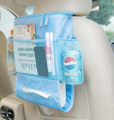 Car Back Seat Organizer with Cooler Bag – BLUE Order online https://www.thtshopping.com/product-page/car-back-seat-organizer-with-cooler-bag-blue