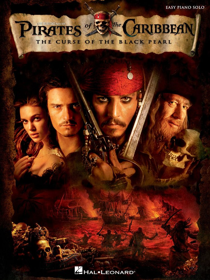 Based on Walt Disney theme park ride of the same name, it's a great fantasy adventure movie that makes pirates back in our good book.