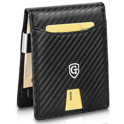 ce2216d009e91 GenTo-Herren-Designer-Geldbrse-Jakarta-mit-Geldklammer-und-Mnzfach ...