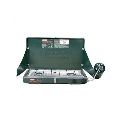 Coleman Propane Stove 2 Burner Outdoor Portable Camp Gas Cooking Grill Classic #Coleman