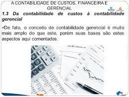 Serviços de Contabilidade Gerencial e de Custos em São Paulo