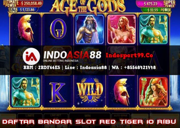 Daftar Bandar Slot Red Tiger 10 Ribu Joker Mainan Indonesia