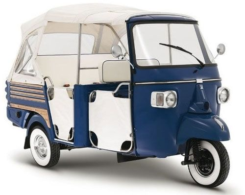 Piaggio recently announced a new all-electric version of the Ape Calessino (sadly, it's not available in the US).