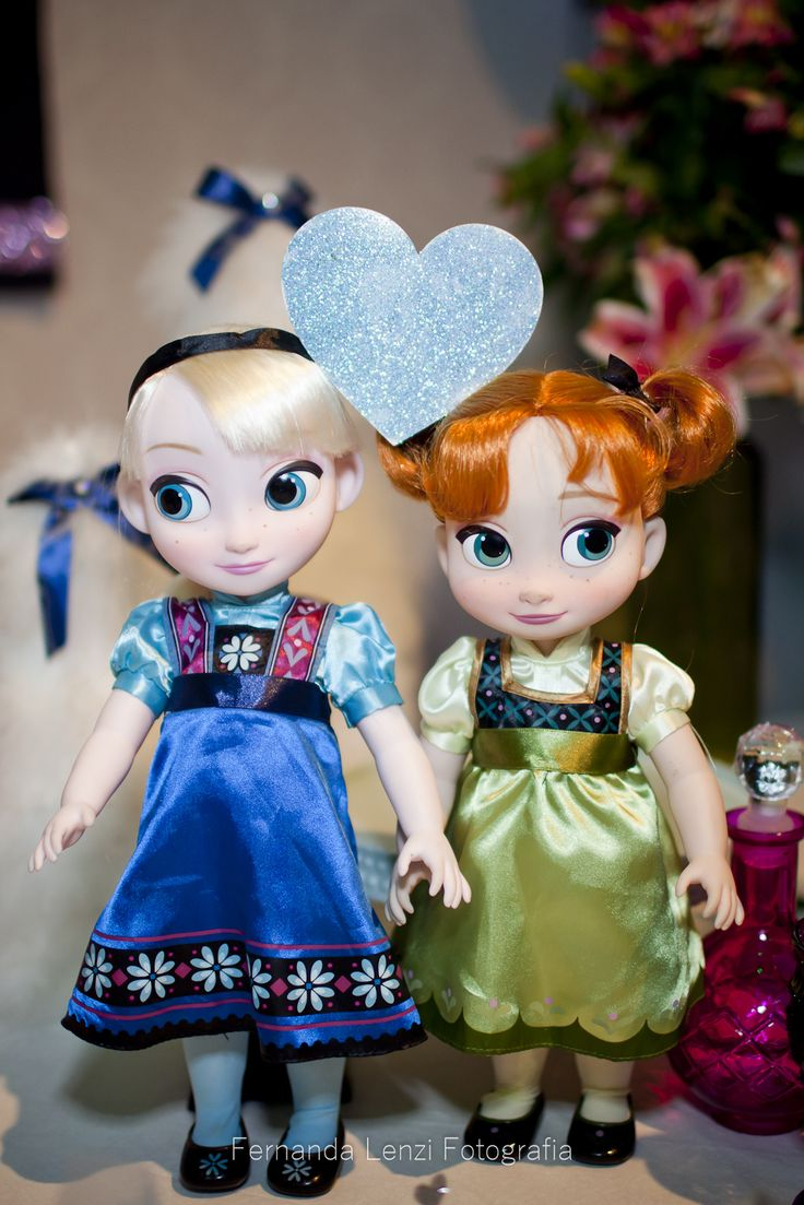 Anna e Elsa, frozen party, festa frozen