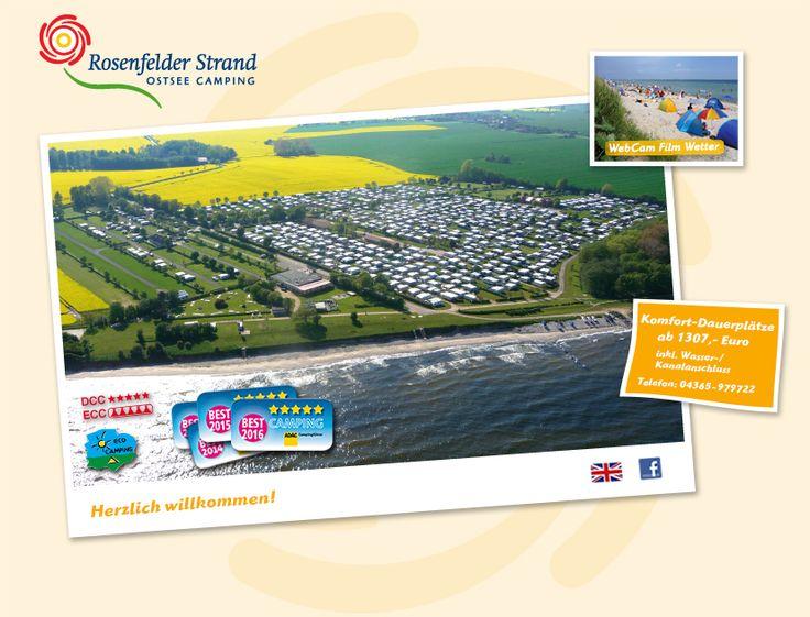 Camping Ostsee Rosenfelder Strand - Campingplatz ausgezeichnet