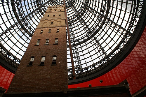 Inside Melbourne Central - Australia - VisasForAustralia.com