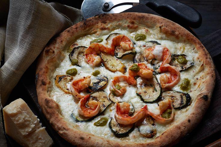 Pizza Gamberi e Zucchine