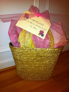 "room mom gift- ""I'm tote-ally grateful for all you've done.  Thanks for being our room mom!"""