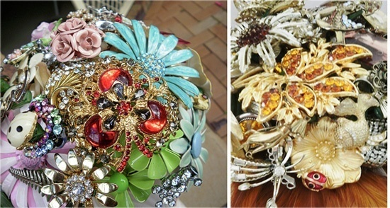 Brooch bouquets! #bouquets
