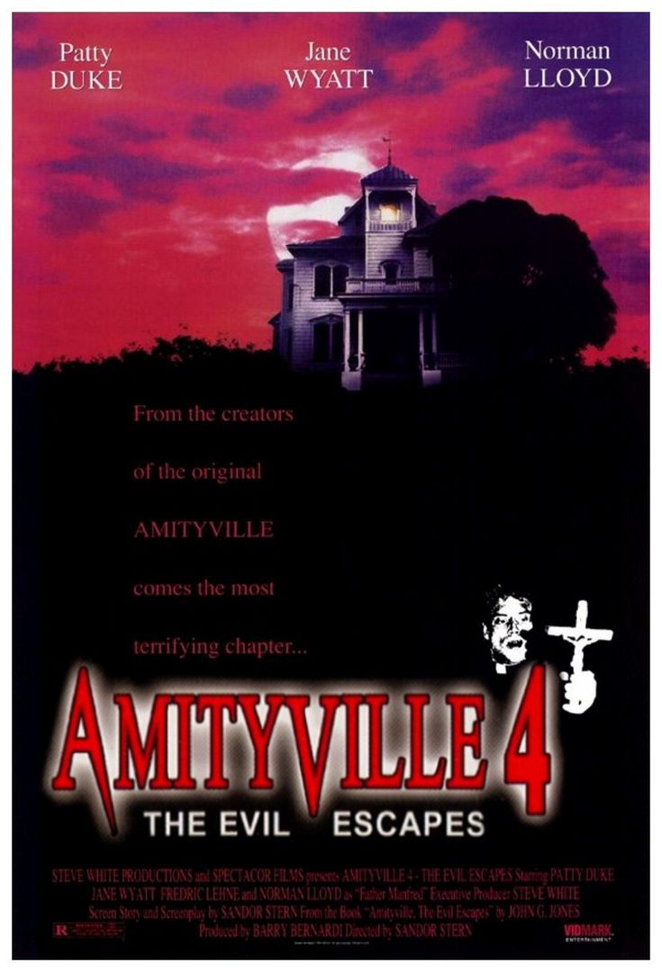 amityville horror movie poster | JB & The Chop Do: Amityville 4: The Evil Escapes (1989) | The Sporadic ...