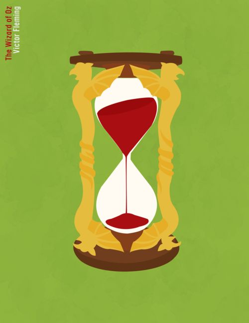 The Wizard of Oz by Erin Nicole  Anonymous request  http://minimalmovieposters.tumblr.com/post/3038678642/the-wizard-of-oz-by-erin-nicole-anonymous-request  Adding concept of time to dna strand