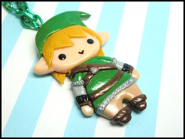 chibi link necklace