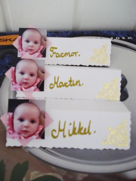bordkort barnedåb - Google-søk