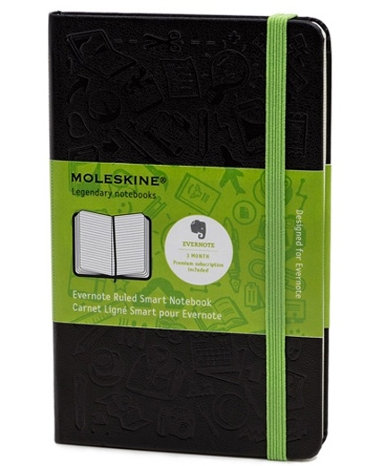 Moleskine Evernote Notebook