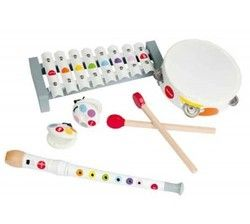 Janod Musical Set Confetti $44.99 - from Well.ca
