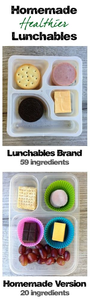Homemade Healthier Lunchables from 100 Days of Real Food