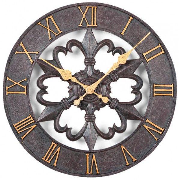 Nástenné hodiny Atlanta 4445, exteriérové, 30cm