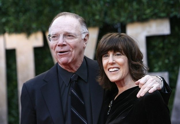 """""""The desire to get married is a basic and primal instinct in women. It's followed by another basic and primal instinct: the desire to be single again."""" - Nora Ephron (pictured with her husband, Nicholas Pileggi)"""