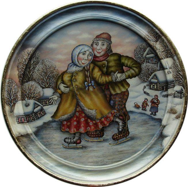 Якушева Юлия. Катание на коньках.