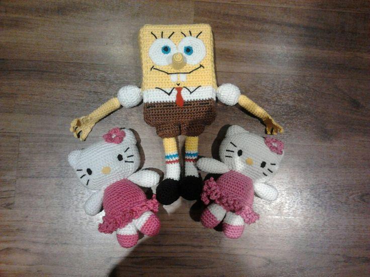 Spongebob a Hello Kitty