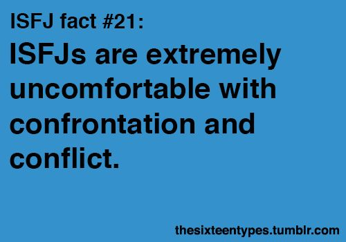 extremely. #isfj, unless it's to protect someone they love... Then watch out!