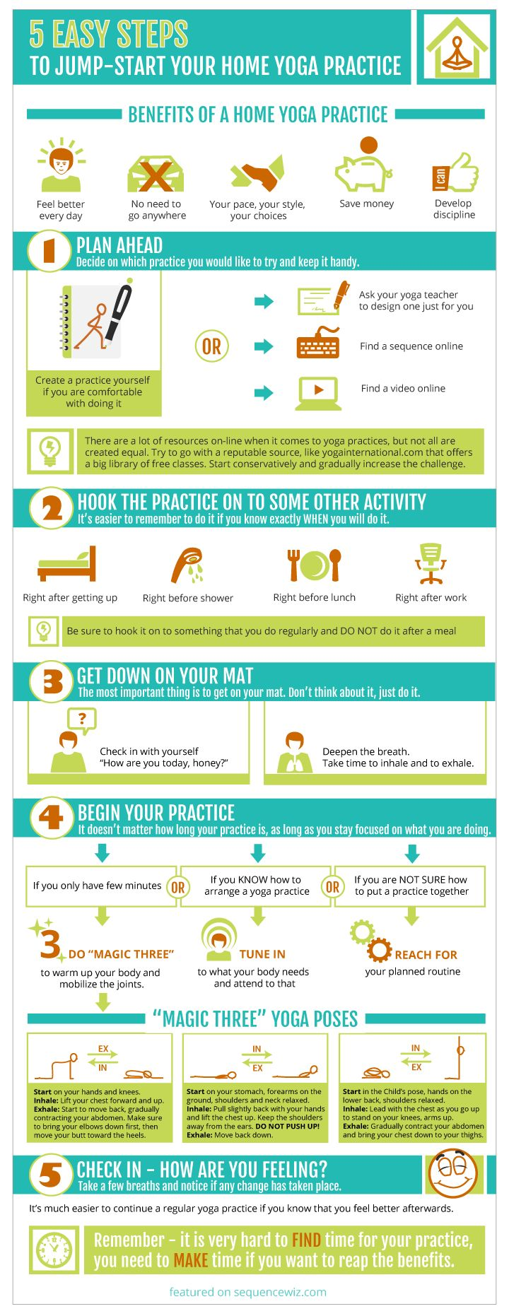 How to begin a home yoga practice