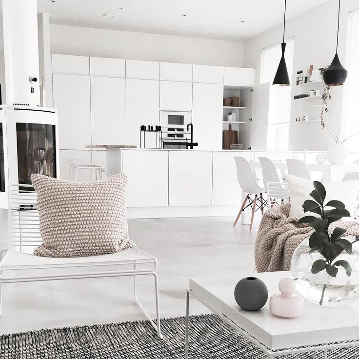 Puustelli valkoinen keittiö white kitchen kök