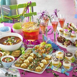Silvester-Buffet: Leckere Häppchen für Ihre Party ins neue Jahr  - silvester-buffet-italia