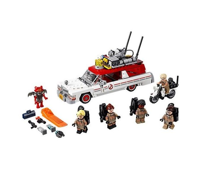 Ghostbusters Ecto 1-2 Lego Include Minifigures Play Set Toys New Sealed  #LEGO
