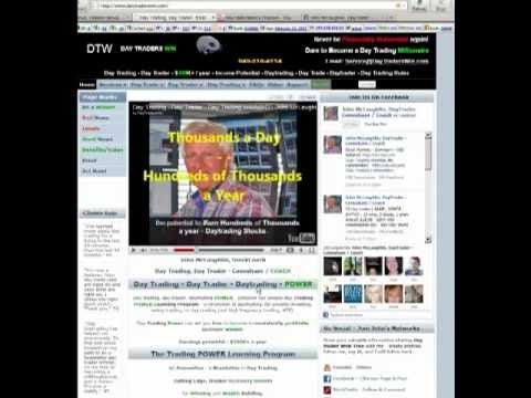 How to Day Trade Online - What is Day Trading by John McLaughlin, Day Trading Coach