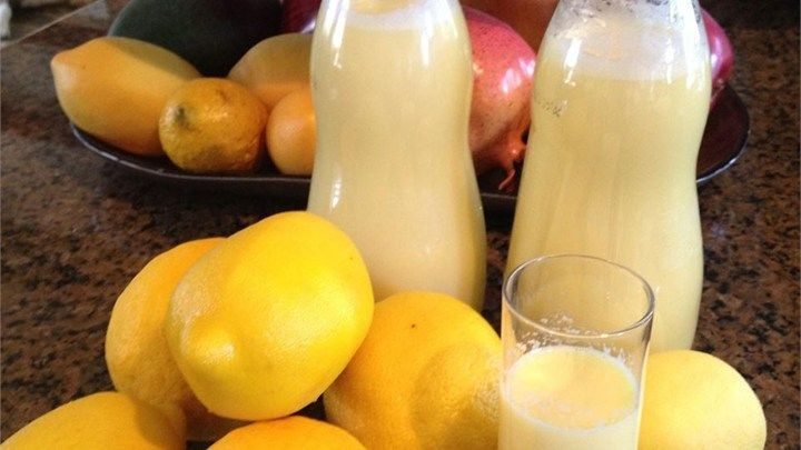 A delicious, lemony treat without the bite of regular limoncello.