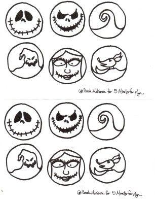 Pumpkin Carving Templates Disney Characters Pumpkin
