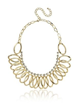 Jardin Golden Petal Collar Necklace