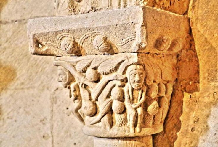 Adam and Eve, Santa Maria of Injury, Valle de Mena, Burgos, Spain