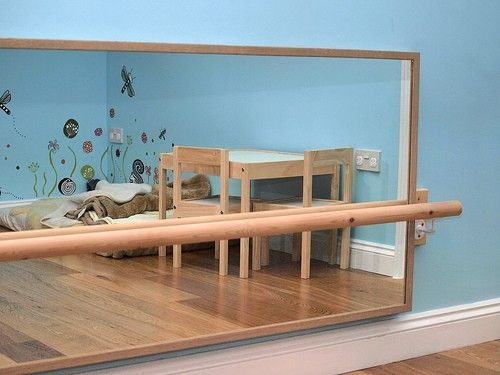 Mirror With Baby Pull Up Bar Baby Pinterest