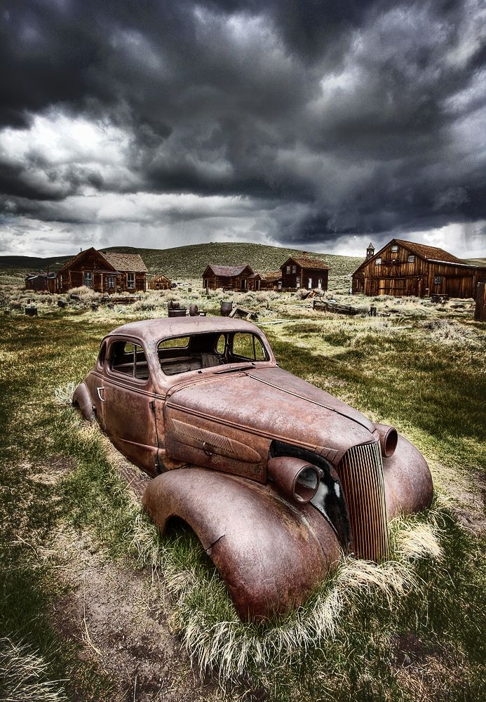 ....Looks like its pretty much a complete body... BUT, it looks like its at a Government owned and protected Ghost Town..