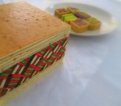 Kek Lapis Sarawak One Food Cake House Pandan City Johor Bahru