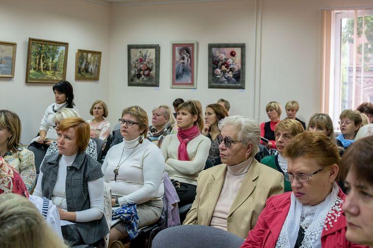 Слухачі конференції - директори бібліотек ВНЗ III-IV рівнів акредитації Київського та Харківського зональних методичних об'єднань