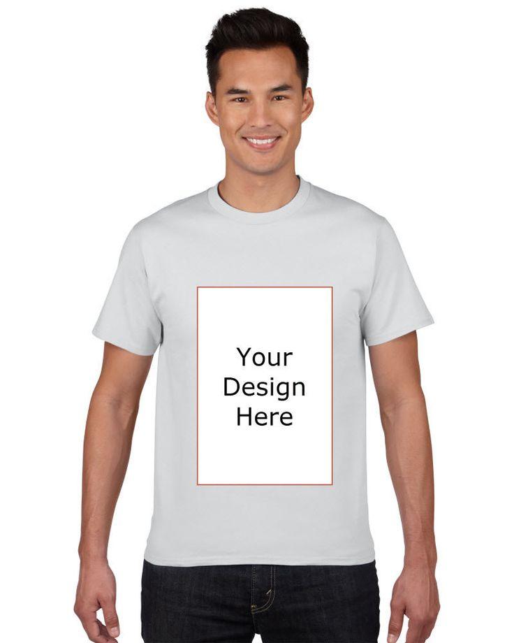 Premium Gent's Top T-shirt New Fashion Cotton Tee shirt Custom made White   Clothing, Shoes & Accessories, Men's Clothing, T-Shirts   eBay!