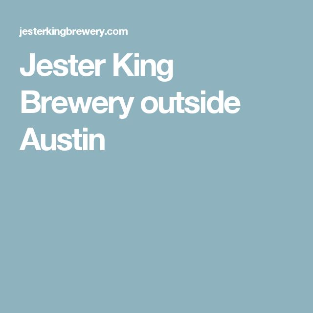 Jester King Brewery outside Austin