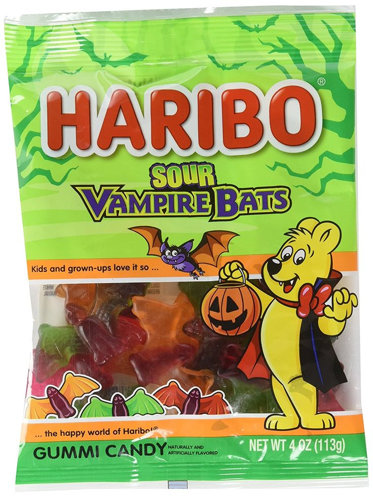 Haribo Halloween Limited Gummy Candy 4oz