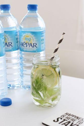 エパーでデトックスウォーターを作って飲んでいます! by. mackyさま   #エパー #超硬水 #硬水 #detoxwater #デトックスウォーター #超硬水エパー #hepar