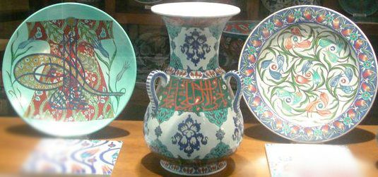 Beautiful Turkish tiles and pottery!