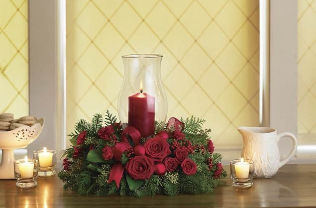 Best christmas flowers and gifts images on pinterest