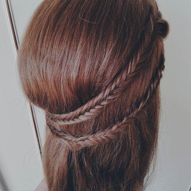 #365daysofbraids #day30 #hairchallenge #braidschallenge #wyzwanie #warkocze #braidideas #fishtailbraid #braidoftheday #klos #fryzura #włosy #hairblog #hairstylist #hairblogger