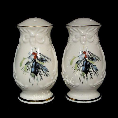 Lenox-China-WINTER-GREETINGS-Holiday-Salt-Pepper-Sculpted- & 44 best LENOX Salt u0026 Pepper Shakers images on Pinterest | Salt ...